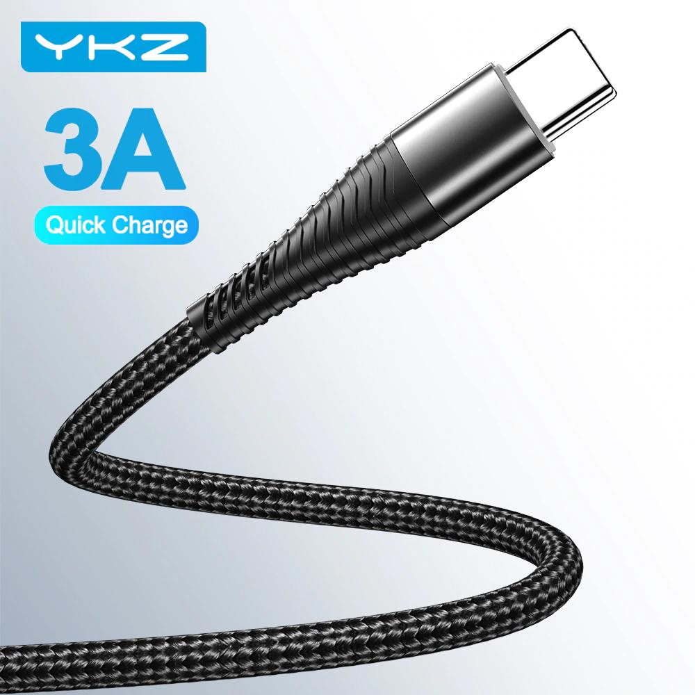 Kabelki USB YKZ 3A za 1$