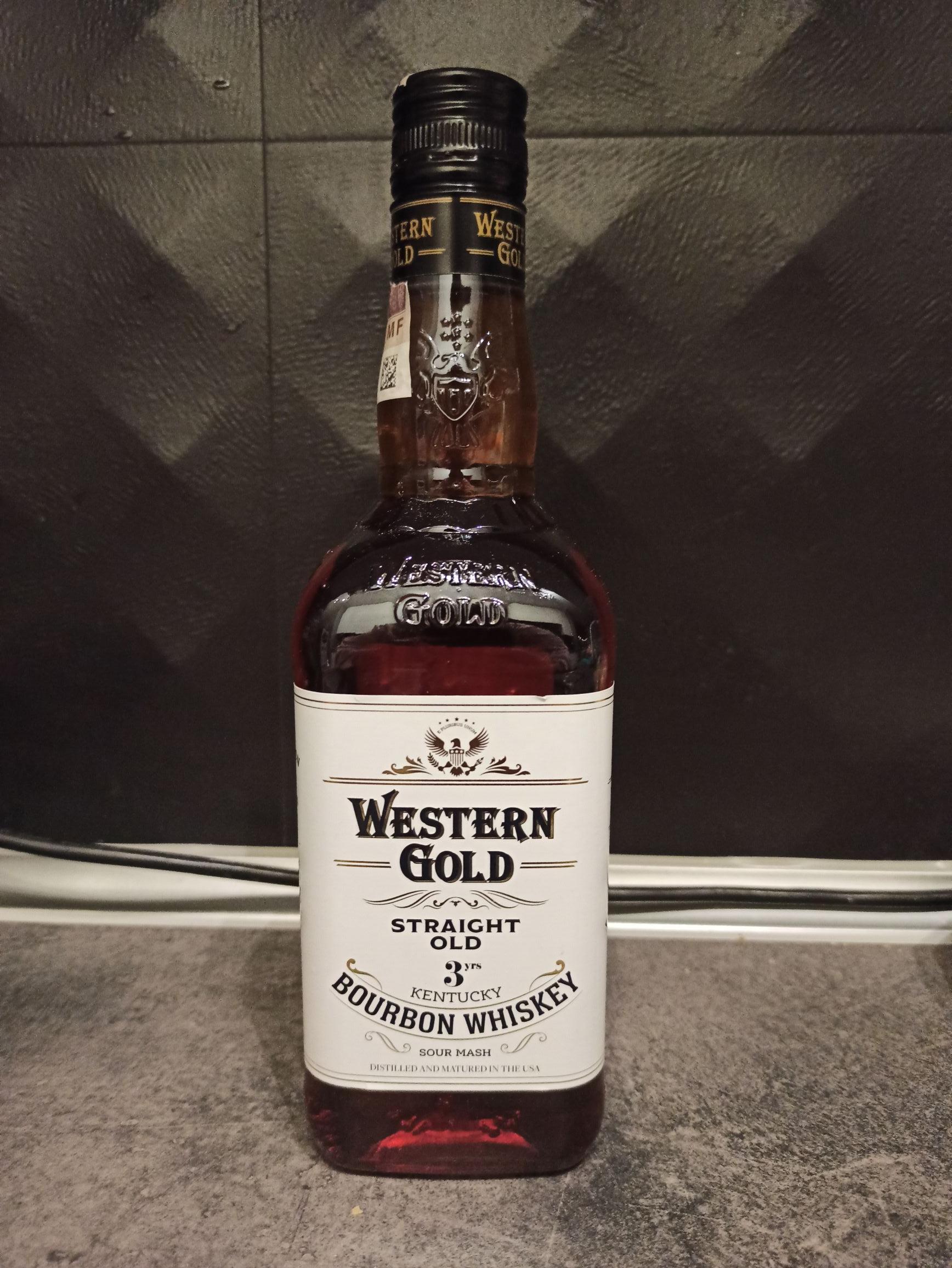 Western Gold Bourbon Whiskey 0,7 LIDL