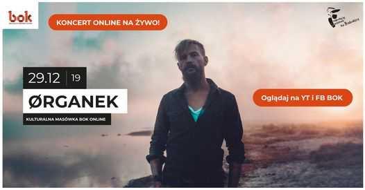 Organek Live koncert online