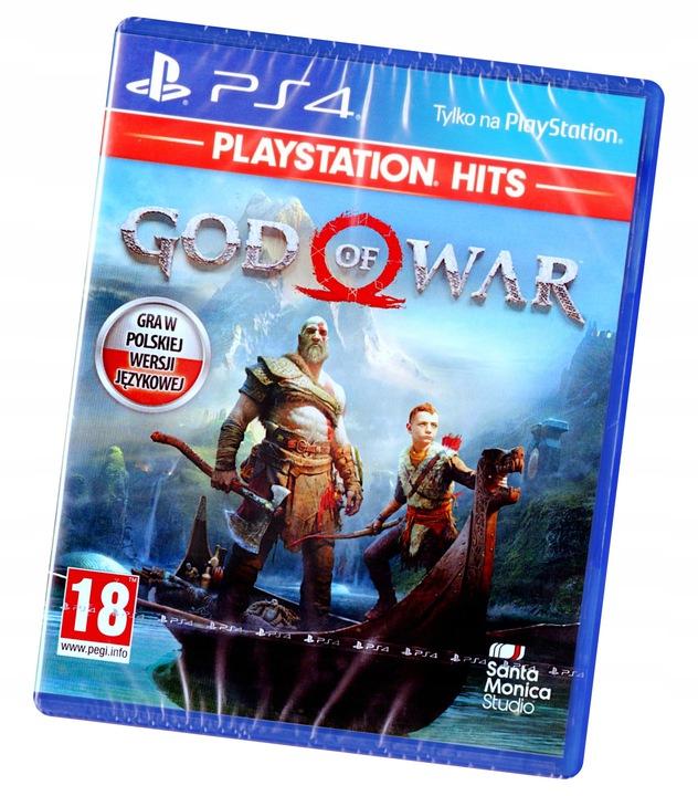 God of War PS4 Nowa Pudełkowa FULL PL DUBBING