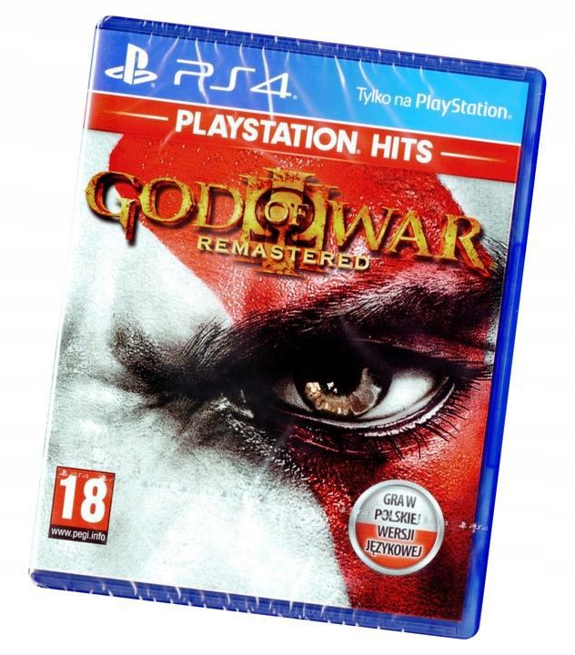 God of War III 3 Remastered Full PL Dubbing Nowa