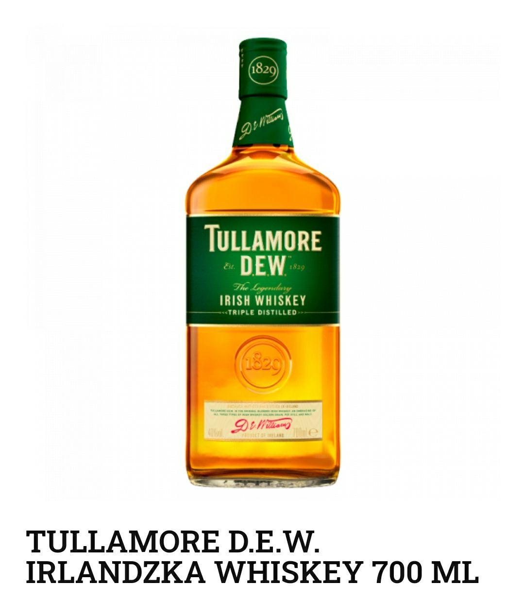Whisky Tullamore Dew 0,7 Ireland Whiskey