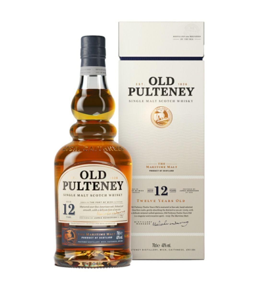 Whisky Old Pulteney 12yo 0,7L