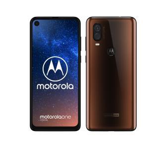 Motorola one vision brązowa