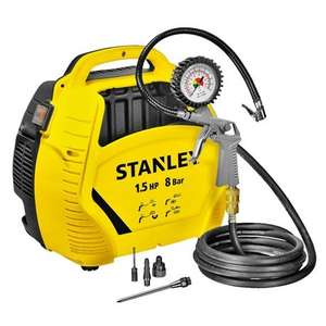 Kompresor Stanley Air Kit (1100W, 8 bar, 180l/min) @ Jula