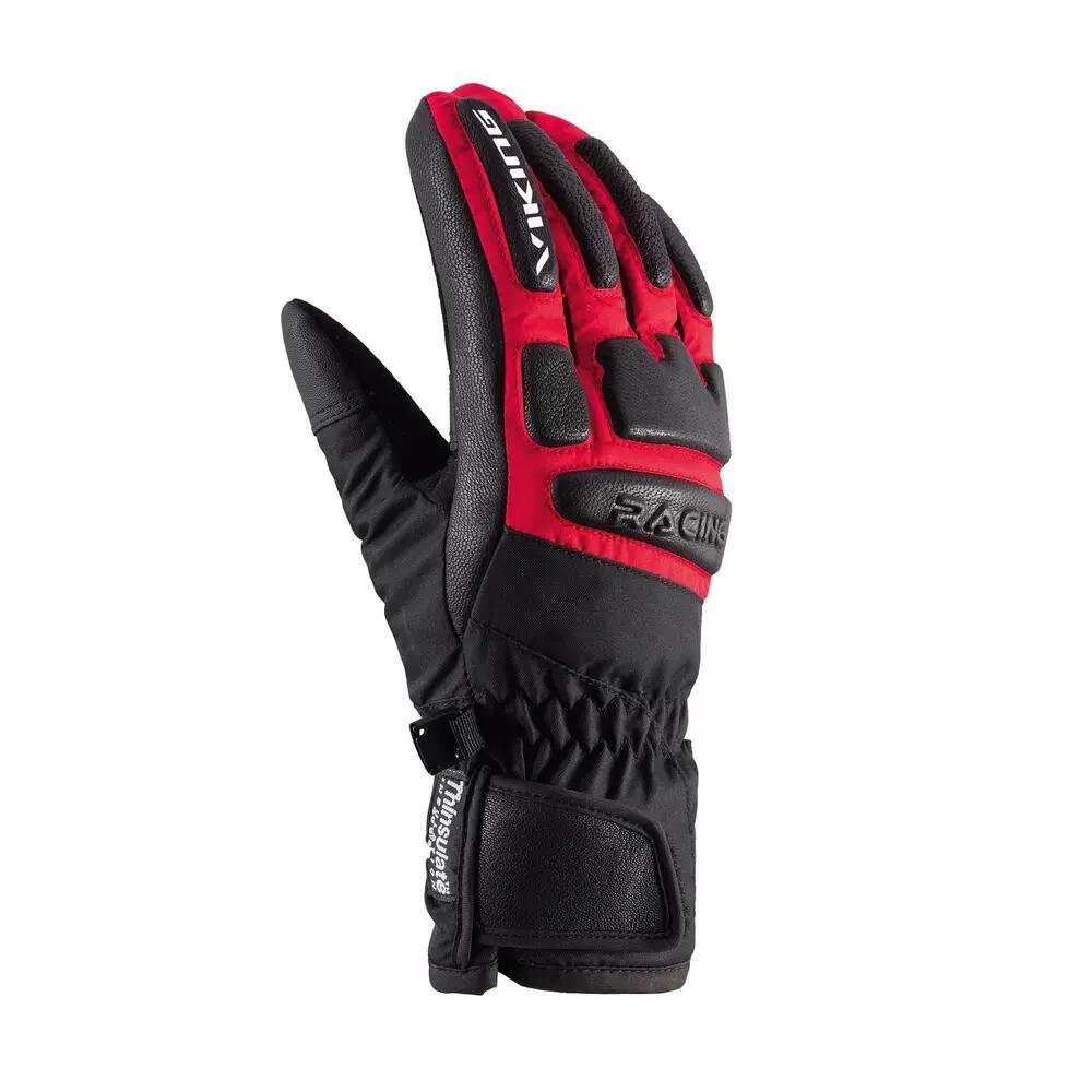Rękawice narciarskie Coach Racing czerwone VIKING