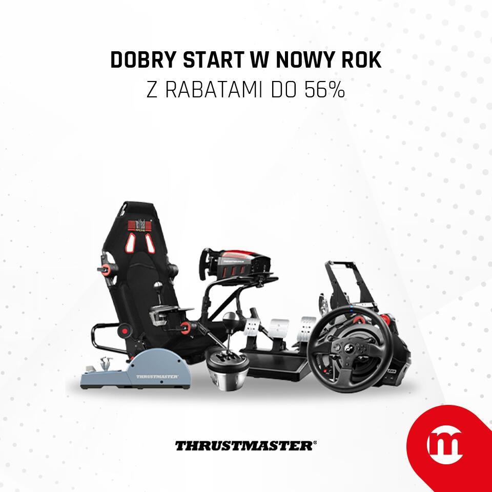 Świąteczna promocja Thrustmaster w Morele (np.Next Level Racing Kokpit GTTrack za 2699 zł)