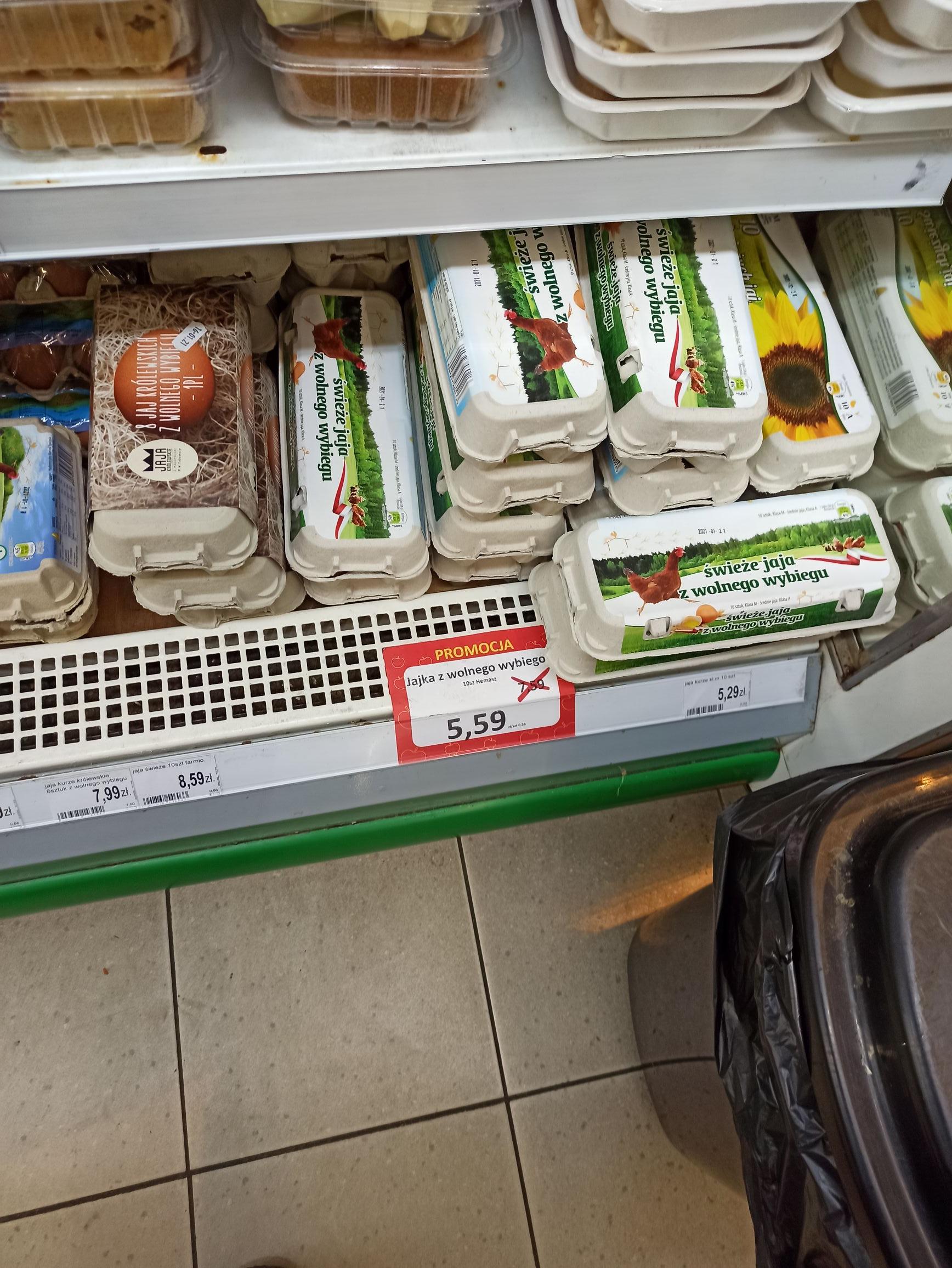 Jajka 10 szt z wolnego wybiegu sklep Avita - Kraków