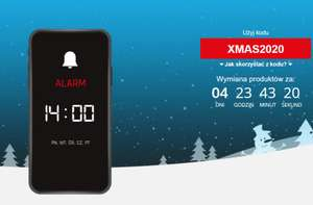 Świąteczny Alarm Cenowy (np. Mysz Volcano Shinobi 3360 za 109,99zł) @ Morele
