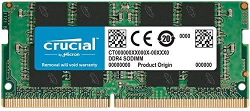 Pamięć do laptopa Crucial 1x16 GB DDR4 2666 CL19 SO-DIMM do laptopa (49,83€)