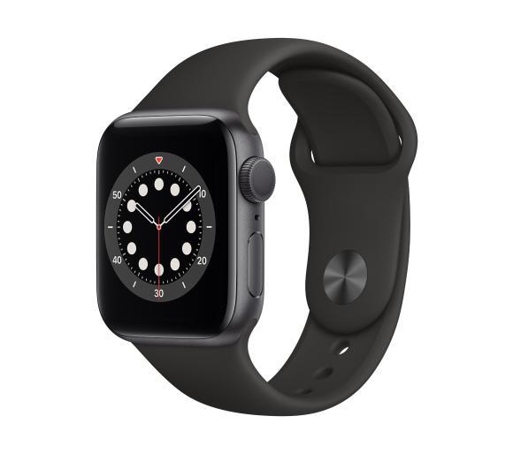 Apple Watch Series 6 GPS 44mm (czarny-sport)