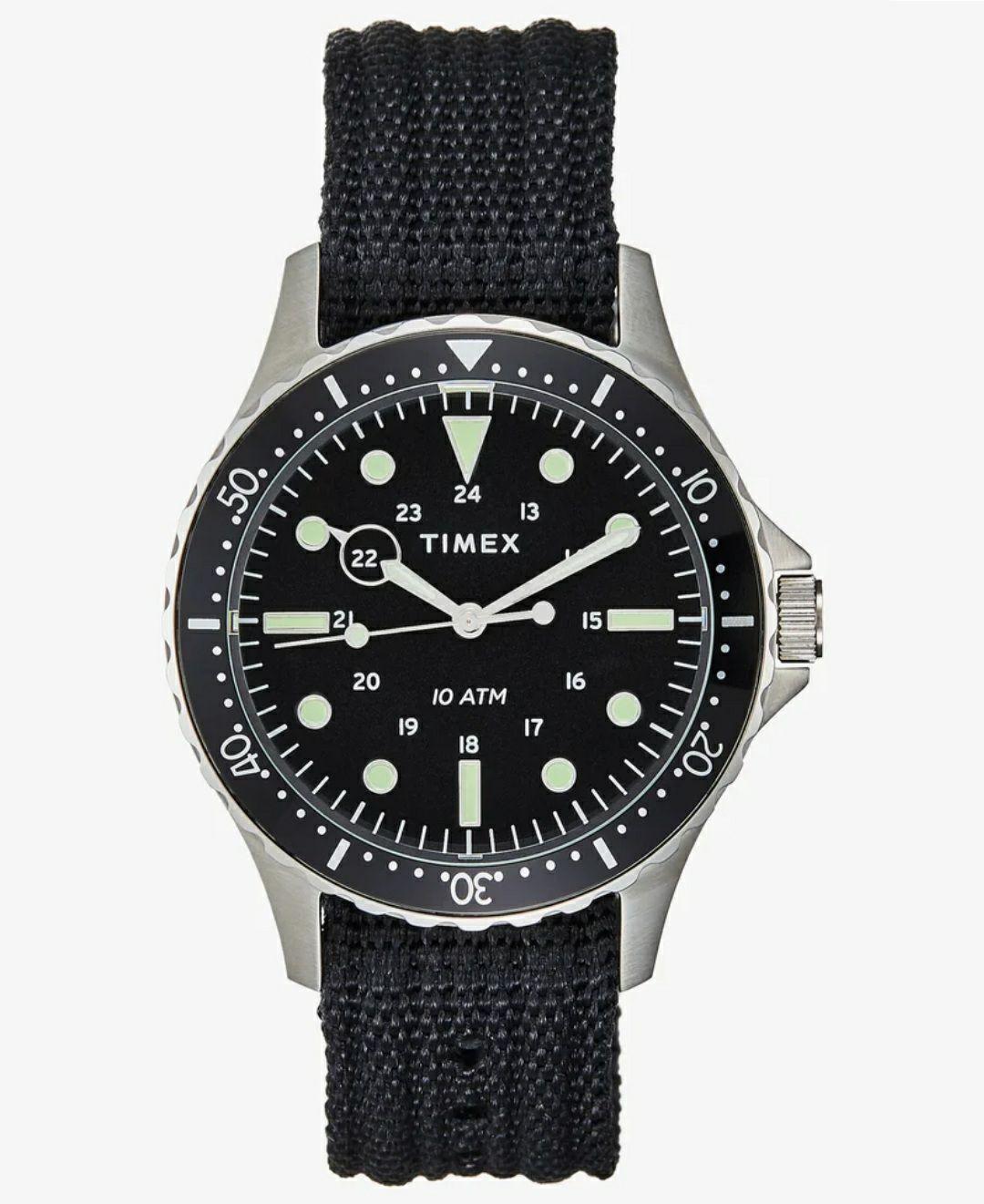 Timex Navi Harbor czarny