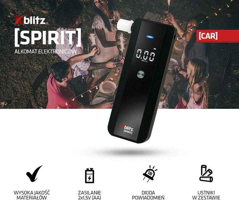 Alkomat XBLITZ Spirit i inne zestawienie promocji Empik