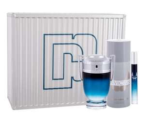 PACO RABANNE INVICTUS LEGEND w zestawie Edp 100 ml + Dezodorant 150 ml + Edp 10 ml