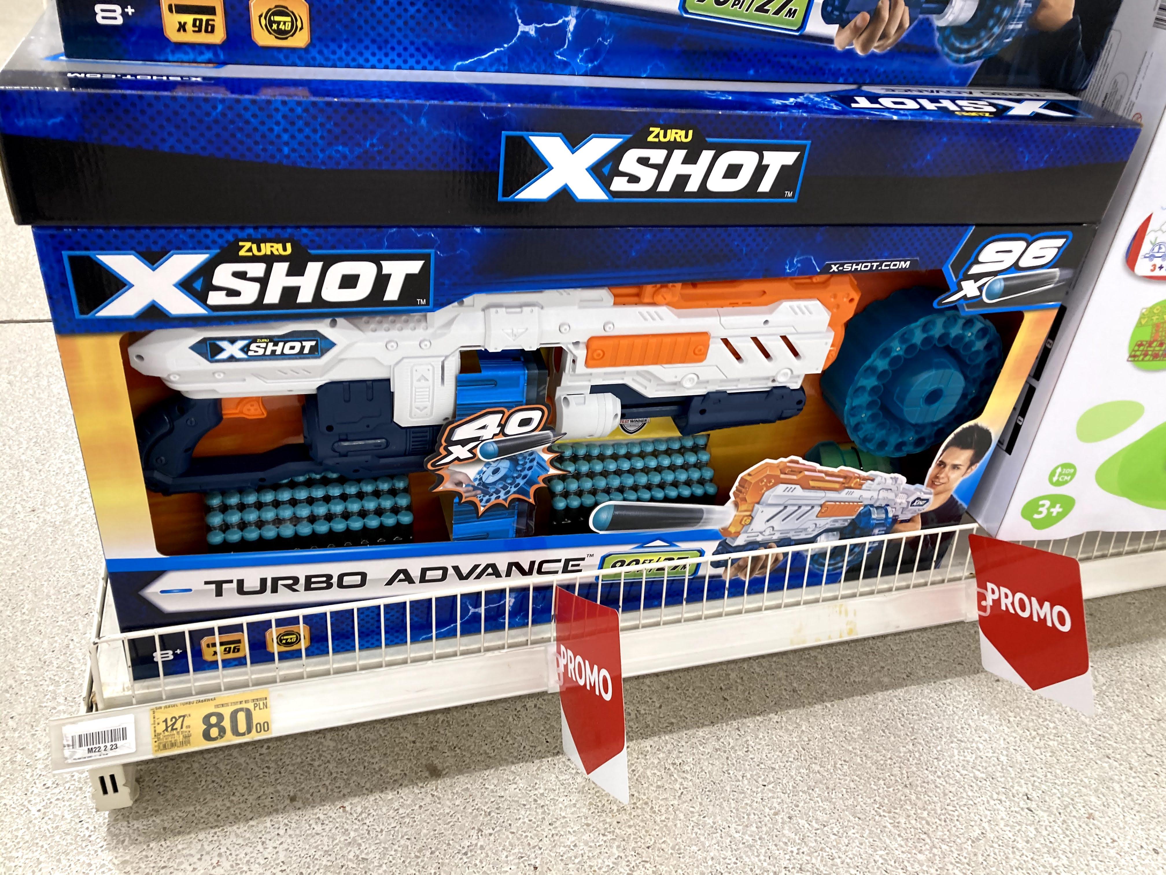 X-Shot Turbo Advance - Auchan Łomianki