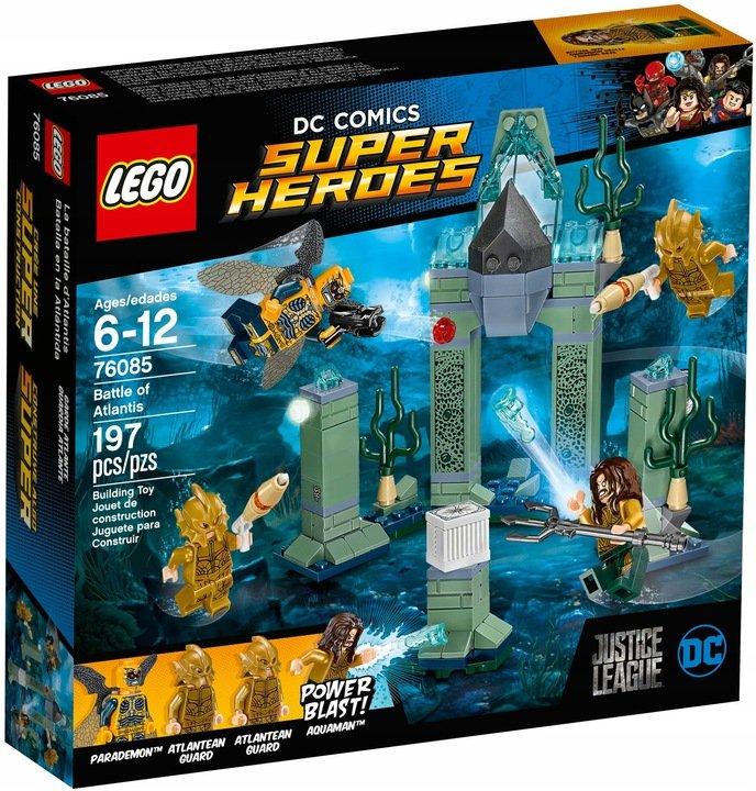 LEGO DC Comics Super Heroes, klocki Bitwa o Atlantis Aquaman, 76085 EMPIK