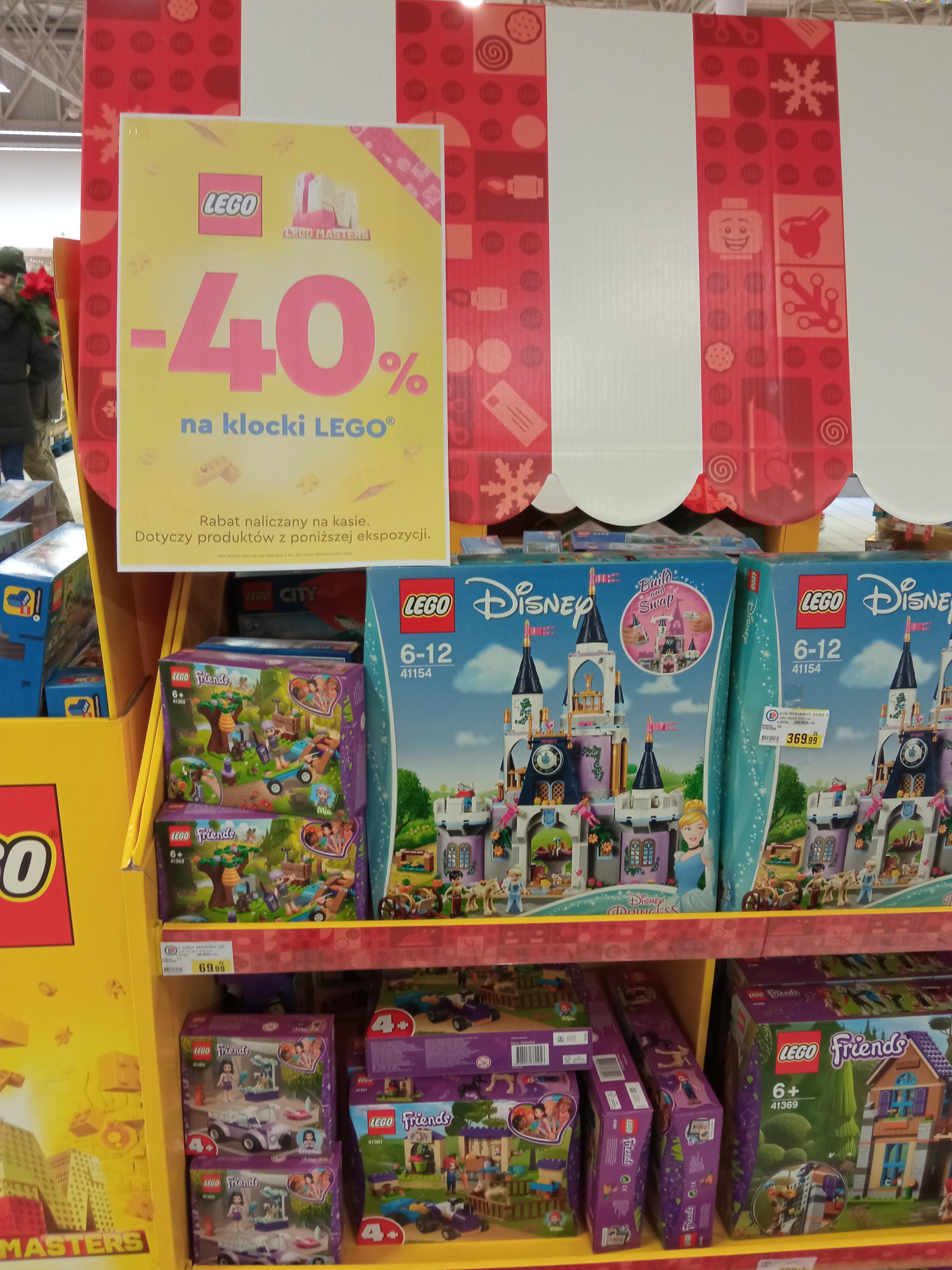 40% rabatu na wybrany zestawy Lego - Leclerc Wrocław