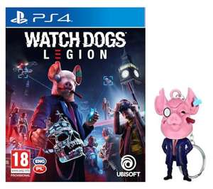 Watch Dogs Legion + brelok PS4 / PS5