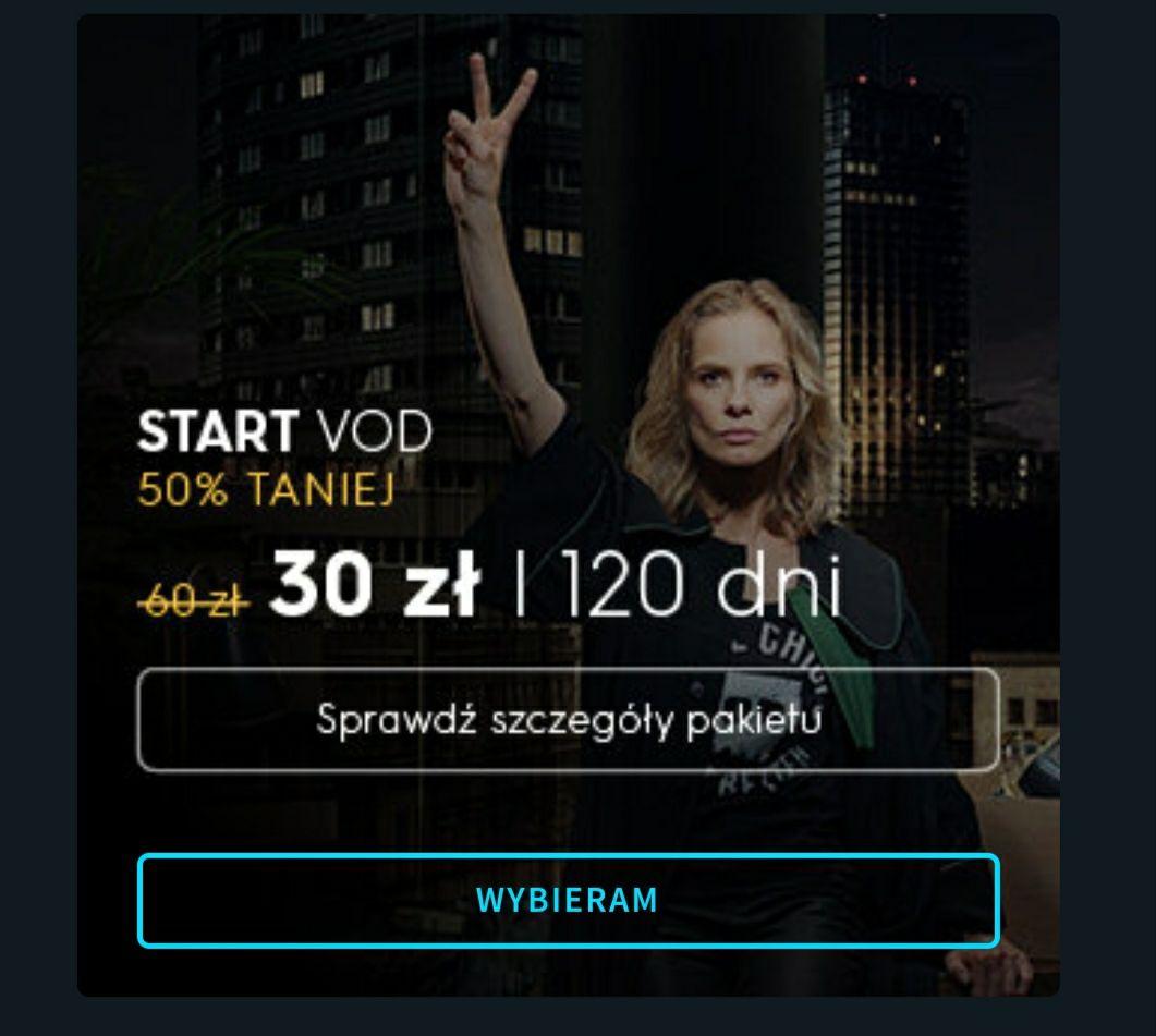 PLAYER.PL START VOD na 120 dni za 30 zł