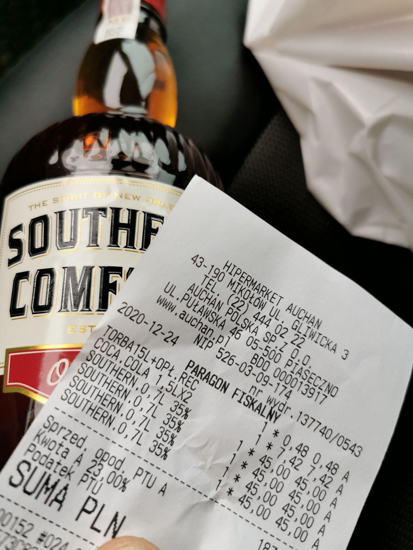 Likier Southern comfort 0,7L