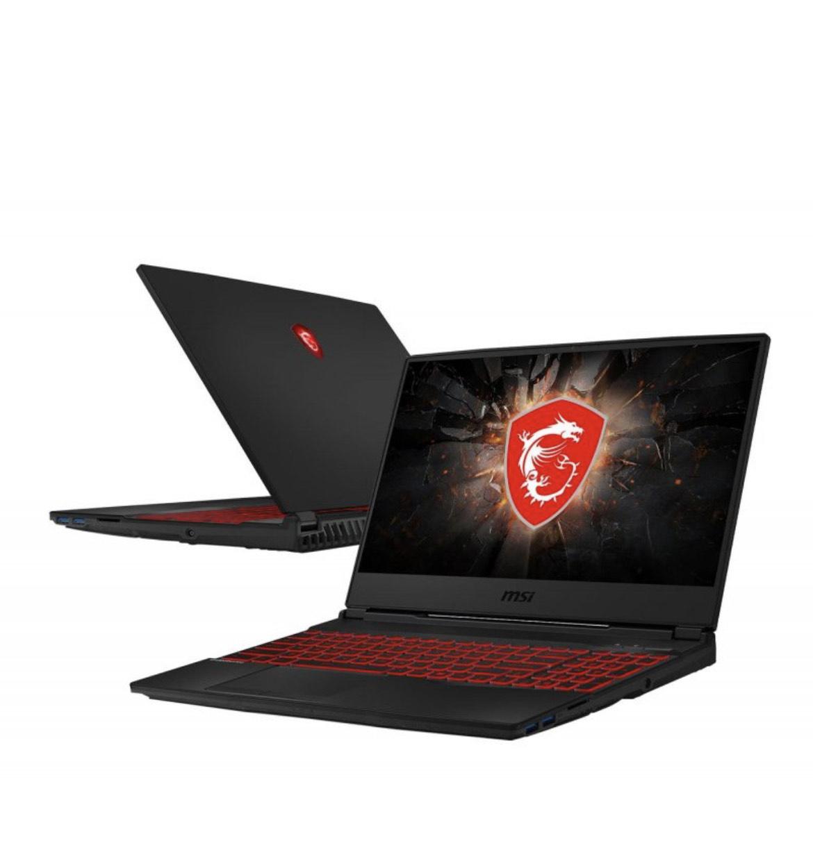 Laptop gamingowy MSI GL65 i5-10300H/16GB/256 GTX1650