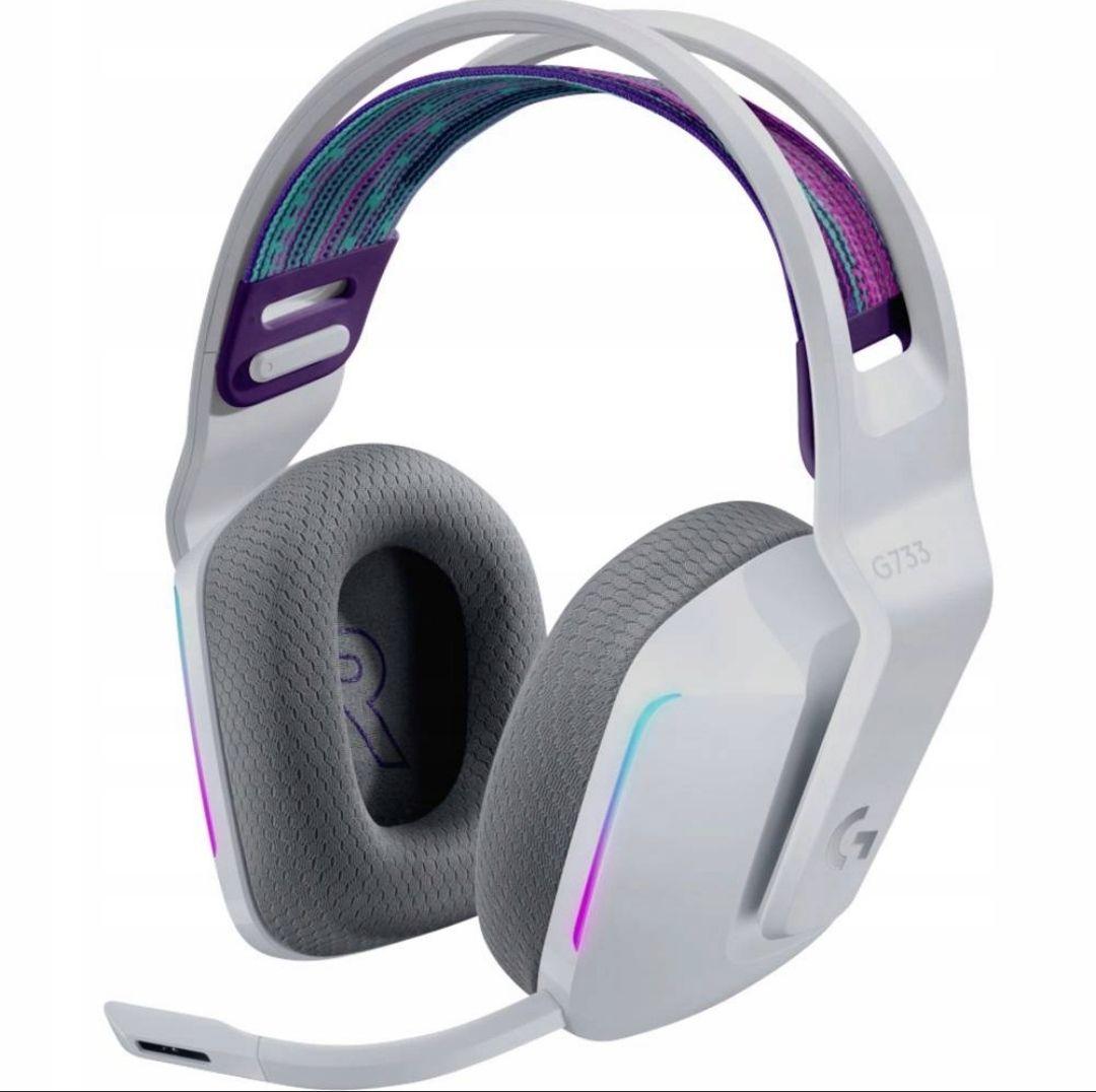 Słuchawki Logitech g733 lightspeed kolor biały bezprzewodowe 429,90 zł