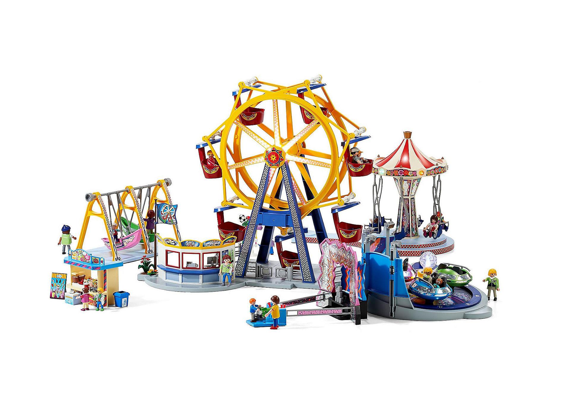 Playmobil -61% Diabelski młyn z kolorowym oświetleniem i inne