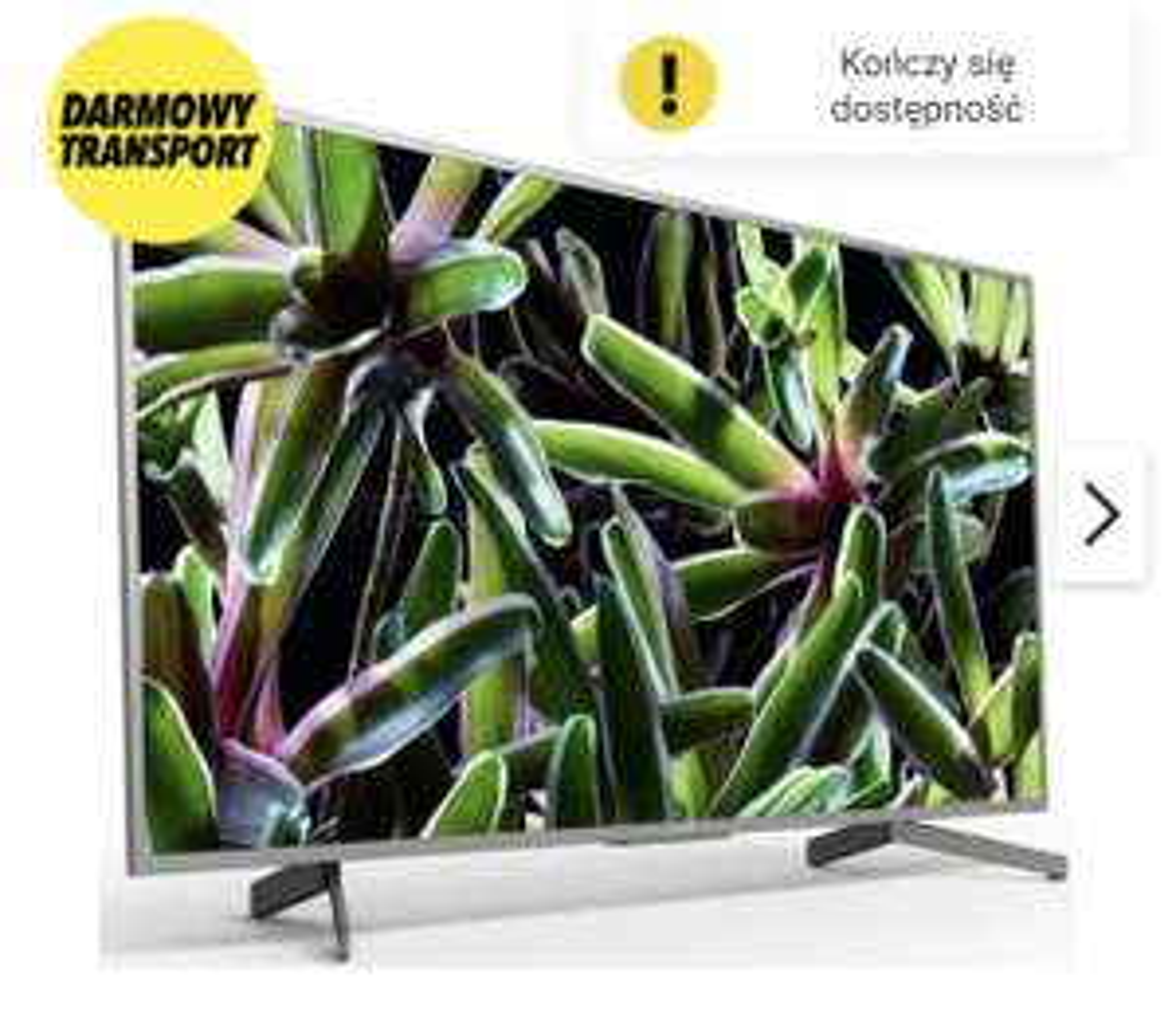 Telewizor SONY LED KD-65XG7077