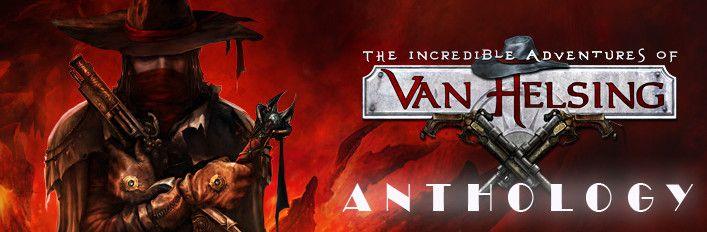 The Incredible Adventures of Van Helsing Anthology Steam zestaw 9 produktów