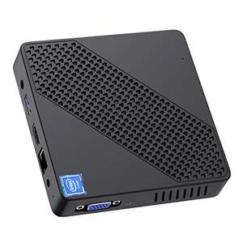 Mini PC Intel Celeron N4000 (do 2,6 GHz) 4 GB LPDDR4/64 GB eMMC Mini komputer stacjonarny Windows10