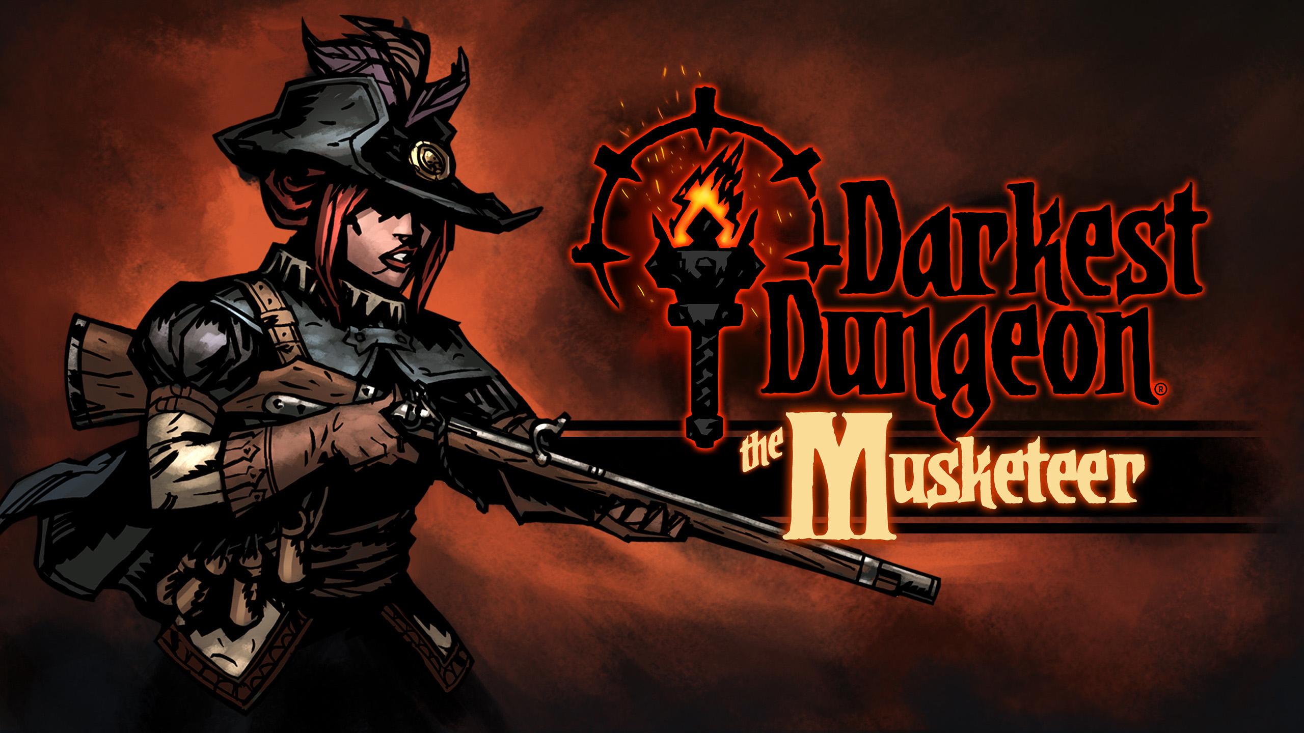 """""""The Musketeer"""" DARMOWY dodatek DLC do Darkest Dungeon EPIC GAMES"""