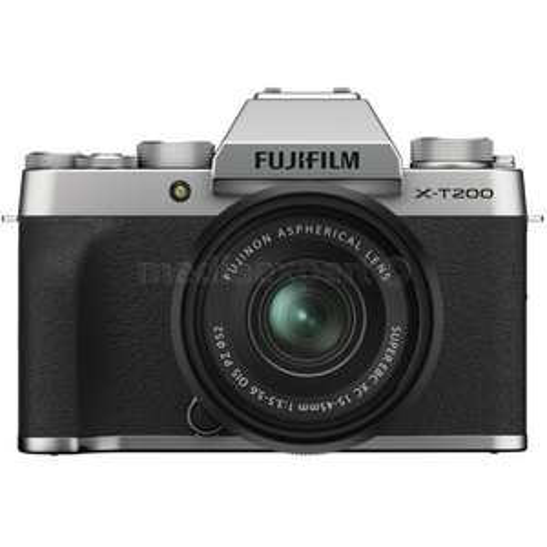 Aparat FUJIFILM X-T200 Srebrny + Obiektyw XC 15-45 mm f/3.5-5.6 OSI PZ