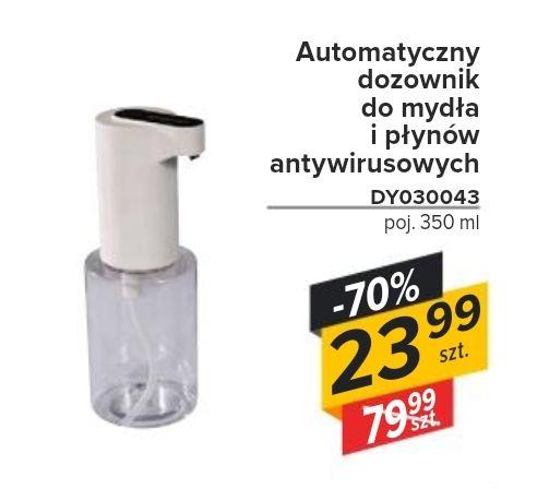 Automatyczny dozownik do mydła i płynów antywirusowych