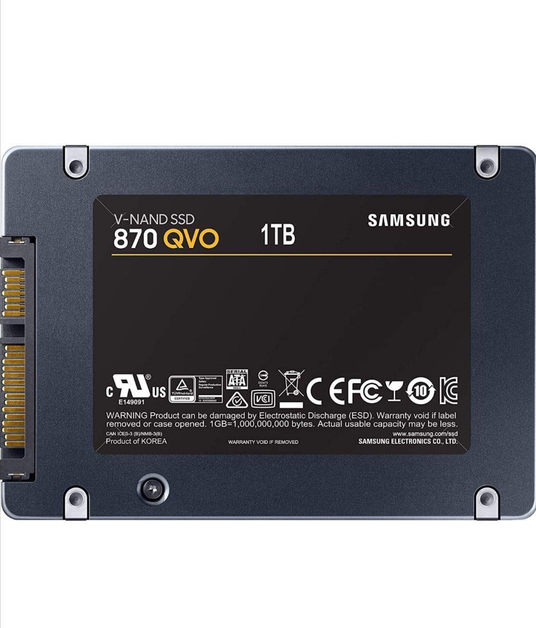 Dysk SSD Samsung 870 QVO 1TB (MZ-77Q1T0BW)