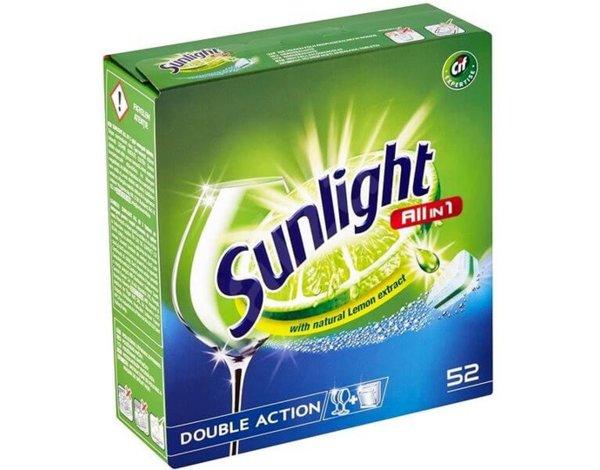 Tabletki do zmywarki Sunlight oraz Somat, kapsułki do prania Surf w Media Markt