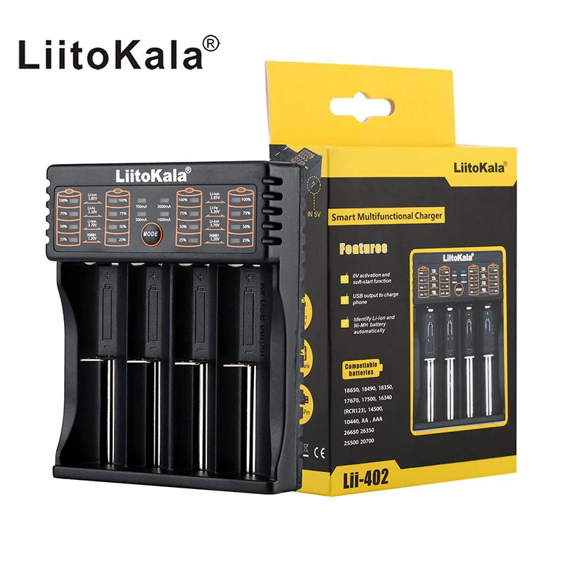 Ładowarka procesorowa Liitokala Lii-402 US $7.30