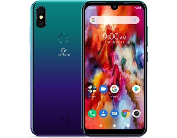 Smartfon MYPHONE Pocket Pro Niebieski 3 GB/32 GB