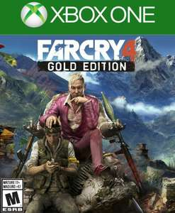 FAR CRY 4 GOLD EDITION XBOX 4,07 $