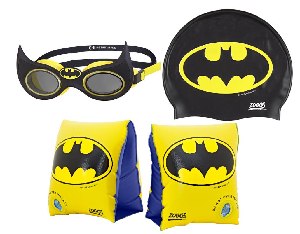 Pływacki zestaw Batmana dla dziecka
