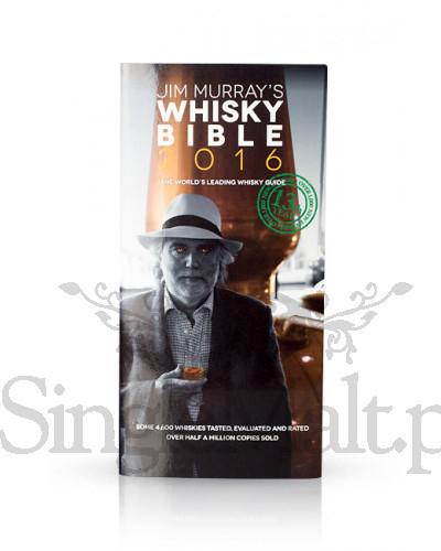 Jim Murray's Whisky Bible 2016. Wersja z oryginalnym odręcznym podpisem Jim'a Murray'a