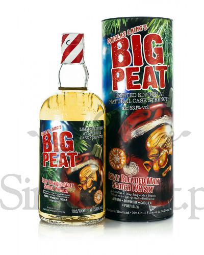 Whisky Big Peat Christmas Edition 0.7l od singlemalt, Wysyłka darmowa od 300zł, pomyłka w ofercie okazja nie jest lokalna lecz ogólnopolska
