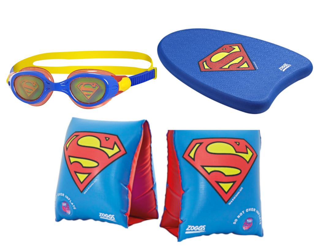 Pływacki zestaw Superman dla dziecka