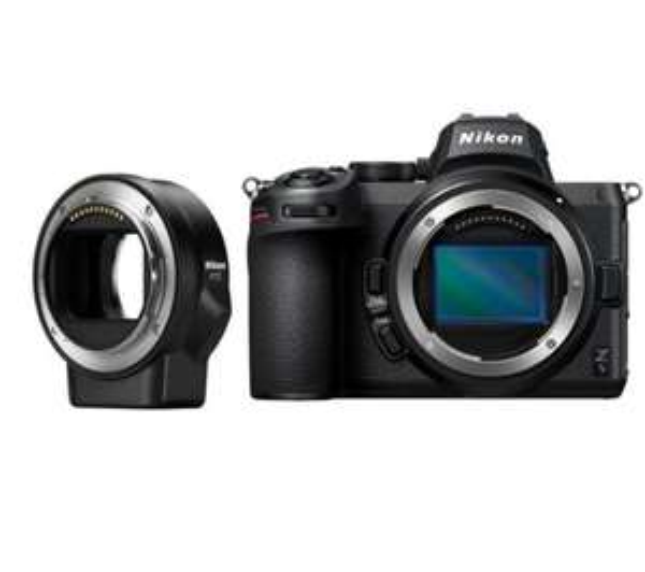 Nikon Z5 + FTZ