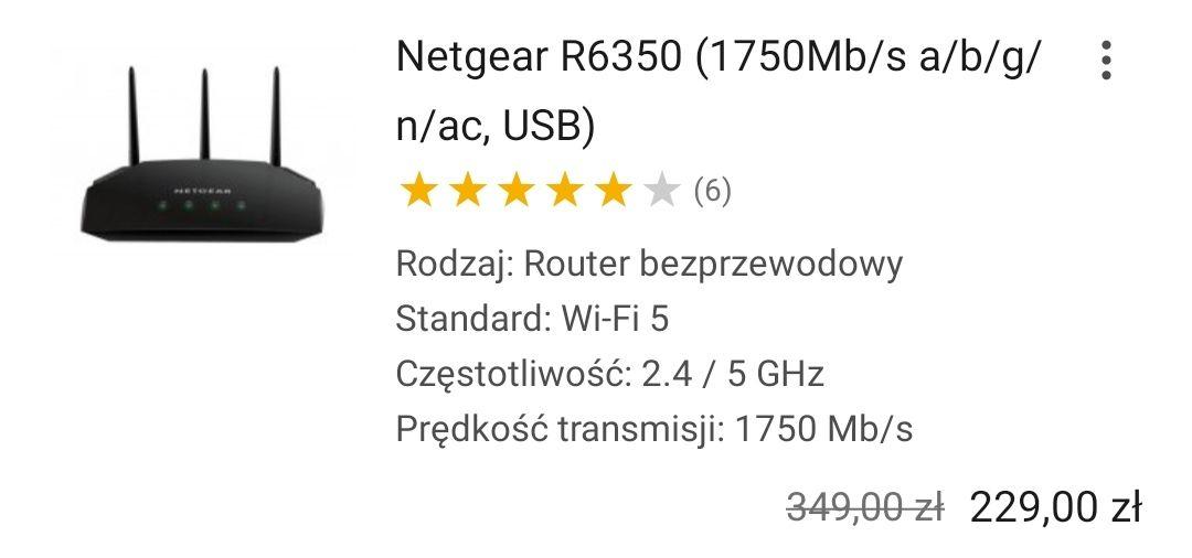 Router Netgear R6350