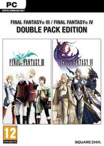 FINAL FANTASY III + IV DOUBLE PACK PC klucz Steam