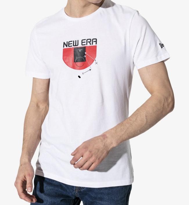 Męski T-Shirt NEW ERA SS NE BASKETBALL TACTIC