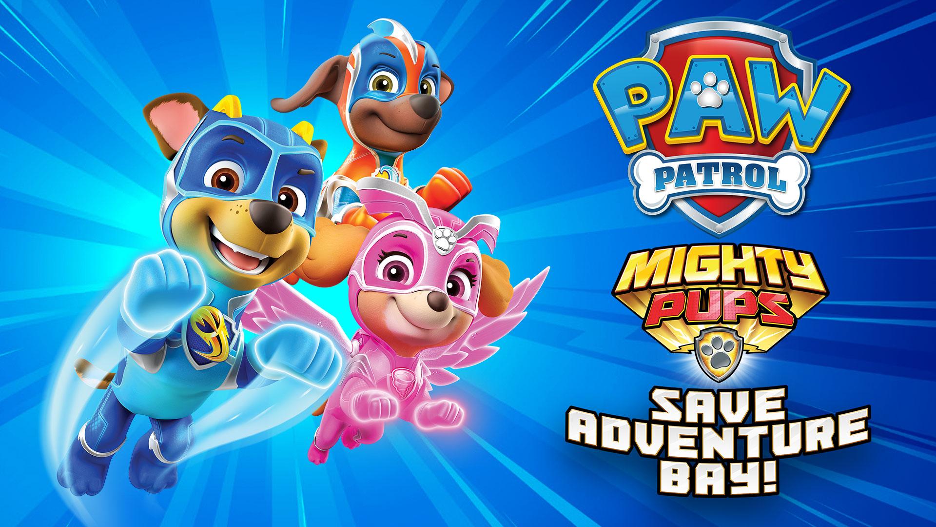 Psi Patrol - PAW Patrol Mighty Pups Save Adventure Bay