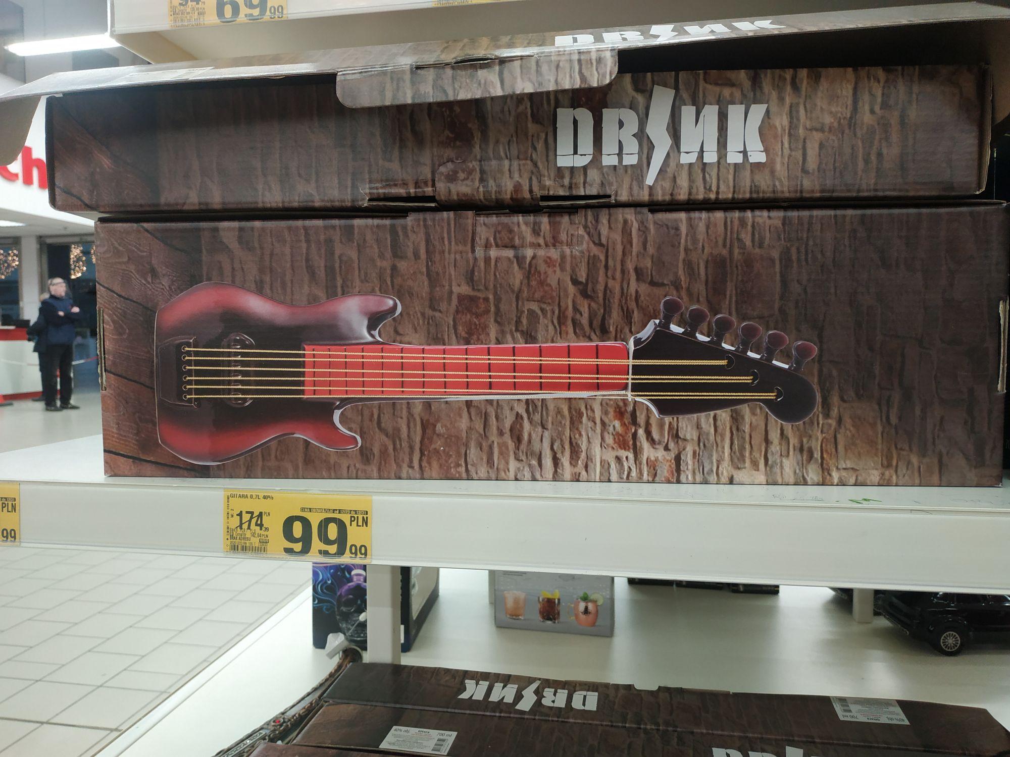 Wódka Gitara 0,7L Auchan Kraków M1