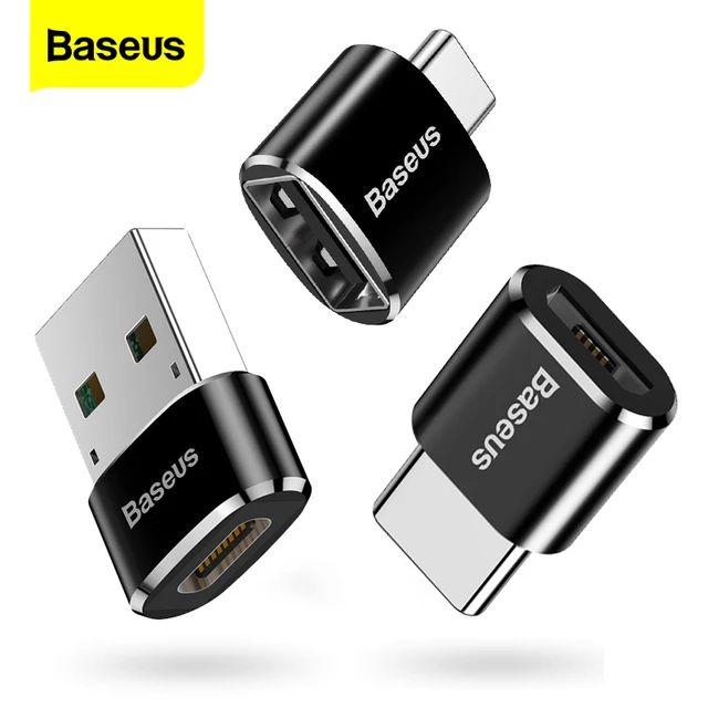 Baseus Adaptery OTG USB C Micro