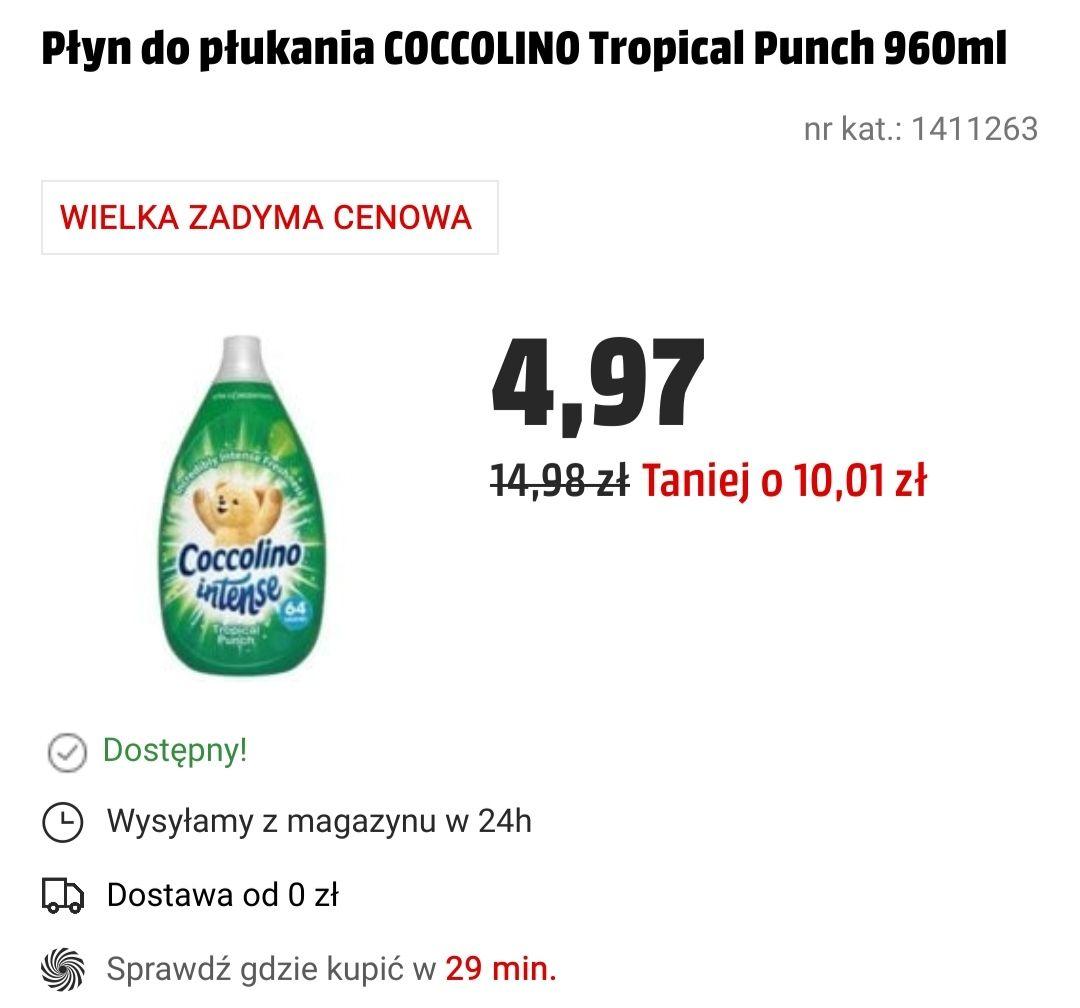 Płyn do płukania COCCOLINO Tropical Punch 960ml
